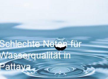 Schlechte Noten für die Wasserqualität in Pattaya