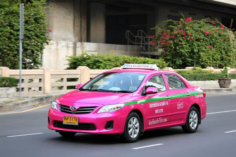 bangkok taxifahrer gegen Uber