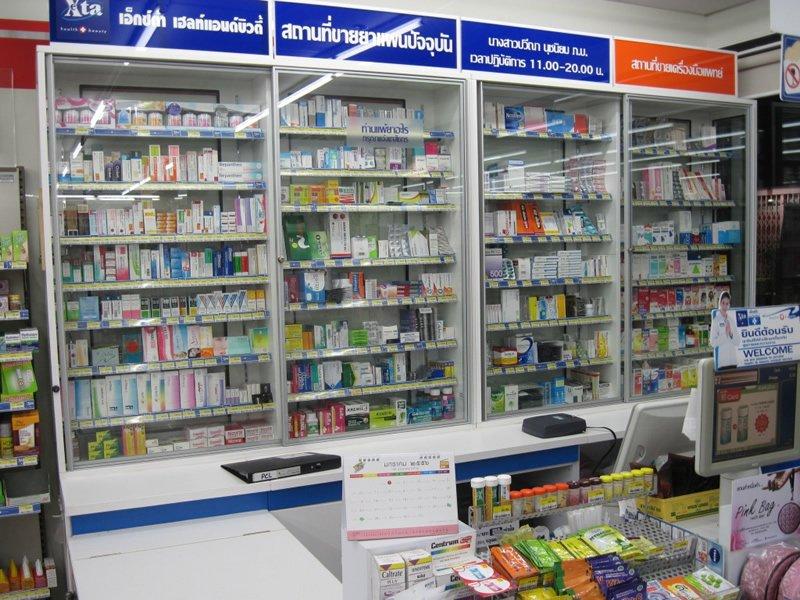 Medikamenteneinkauf in Thailand