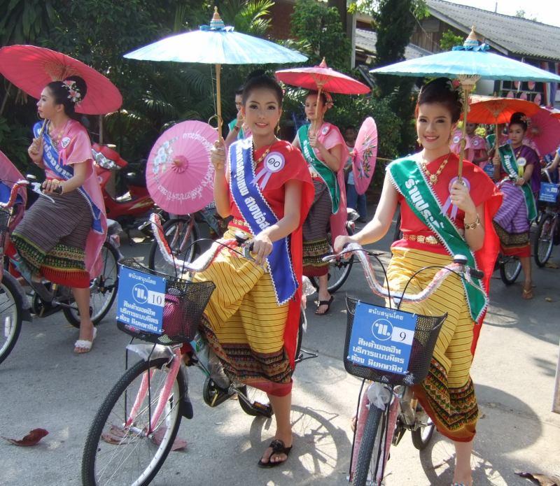 Parade auf dem Festival
