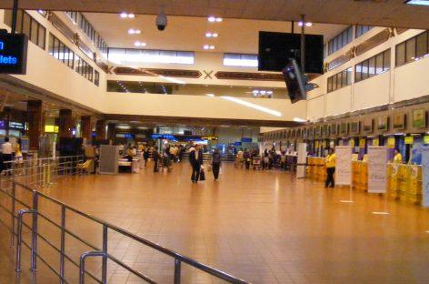 Der Don Mueang Flughafen in Bangkok