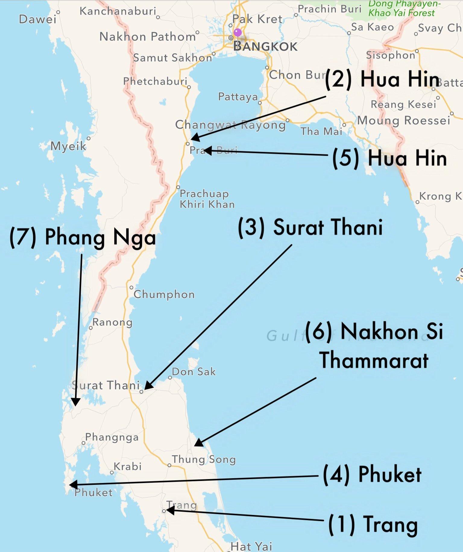 Bombenanschlag in Thailand