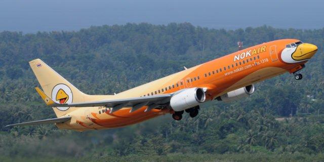 Mit Nok Air in Thailand fliegen