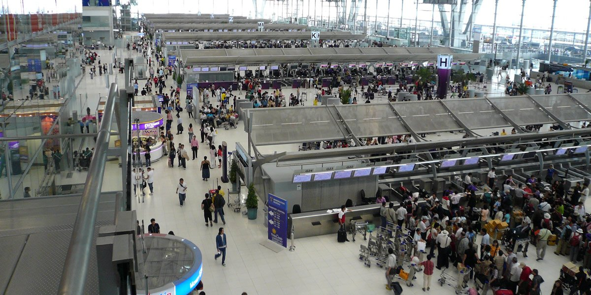Flughafen Bangkok Ankunft Aktuell