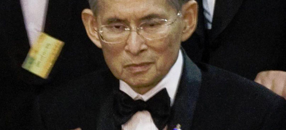 Thailand in größter Sorge wegen König Bhumibol Adulyadej