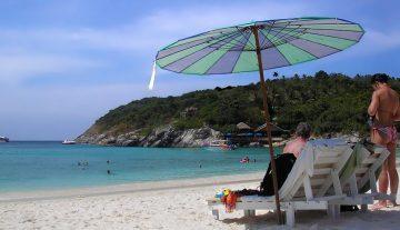 Die Zwillingsinseln Koh Racha Yai und Koh Racha Noi