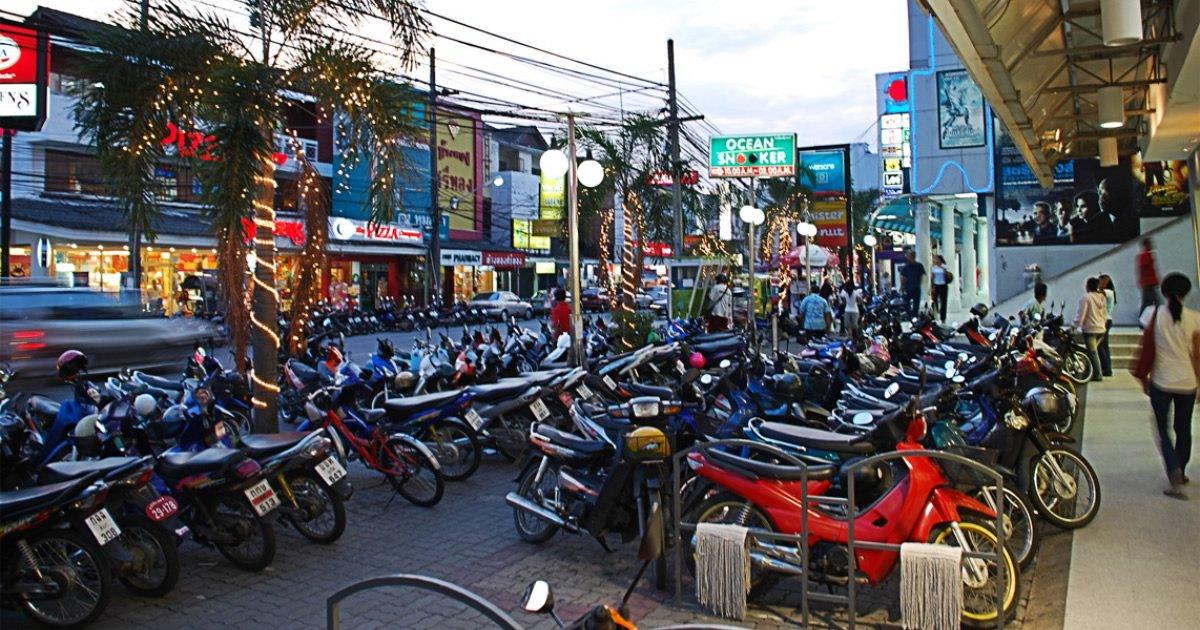 Roller mieten in Phuket