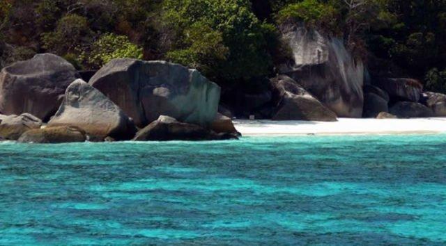 Urlaub auf einer Insel in Thailand