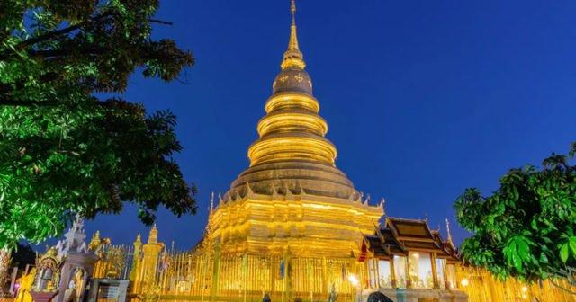 Lamphun Thailand die Stadt der legendären Königin Chama Devi