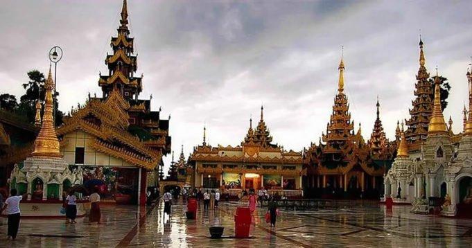 Yangon Rangun in Myanmar